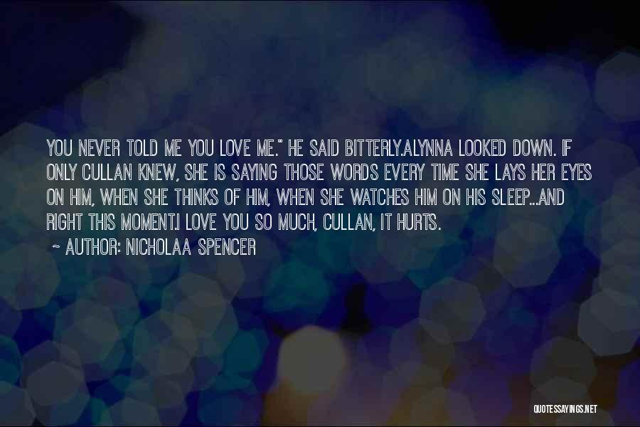 Time And Watches Quotes By Nicholaa Spencer