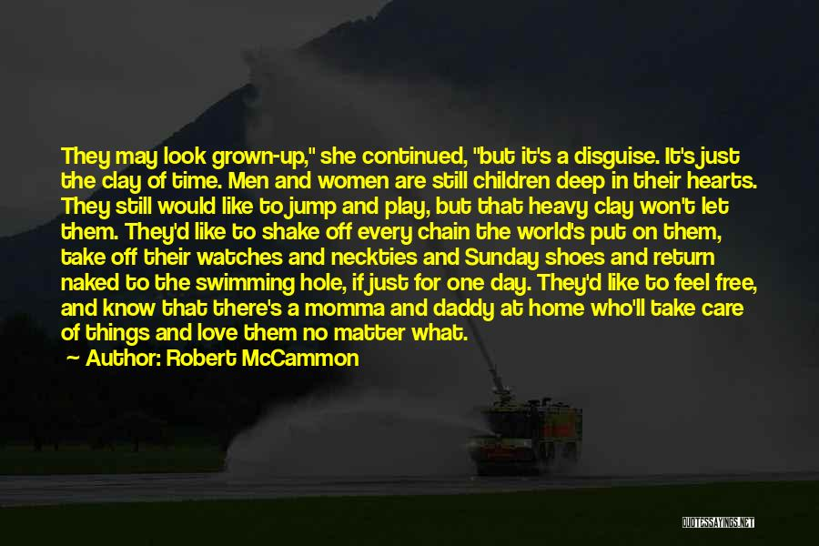 Time And Watches Quotes By Robert McCammon
