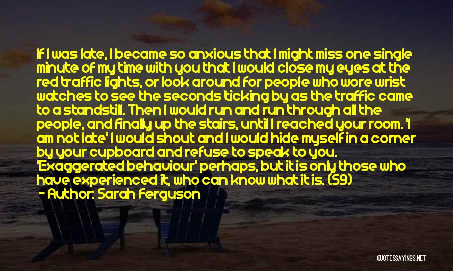 Time And Watches Quotes By Sarah Ferguson