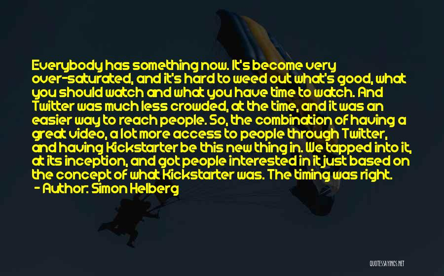 Time And Watches Quotes By Simon Helberg