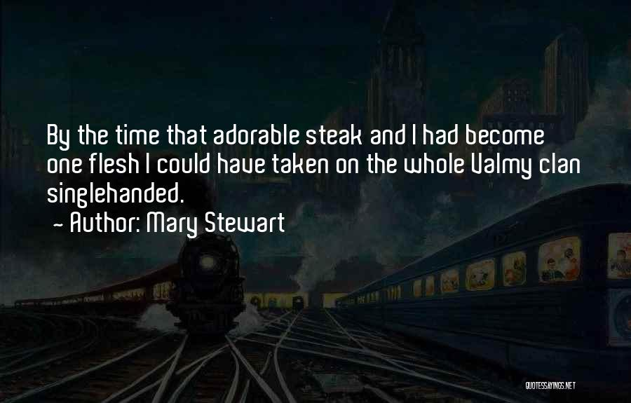 Time By Time Quotes By Mary Stewart