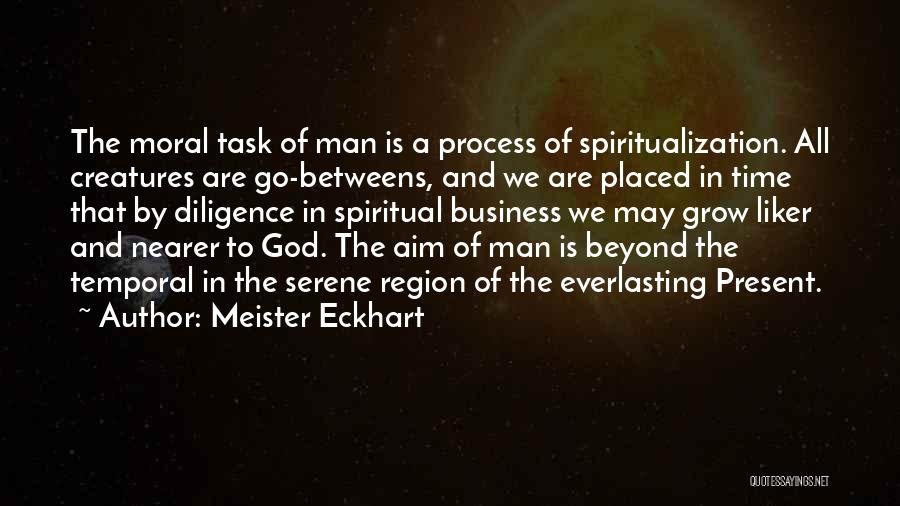 Time By Time Quotes By Meister Eckhart