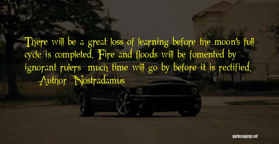 Time By Time Quotes By Nostradamus