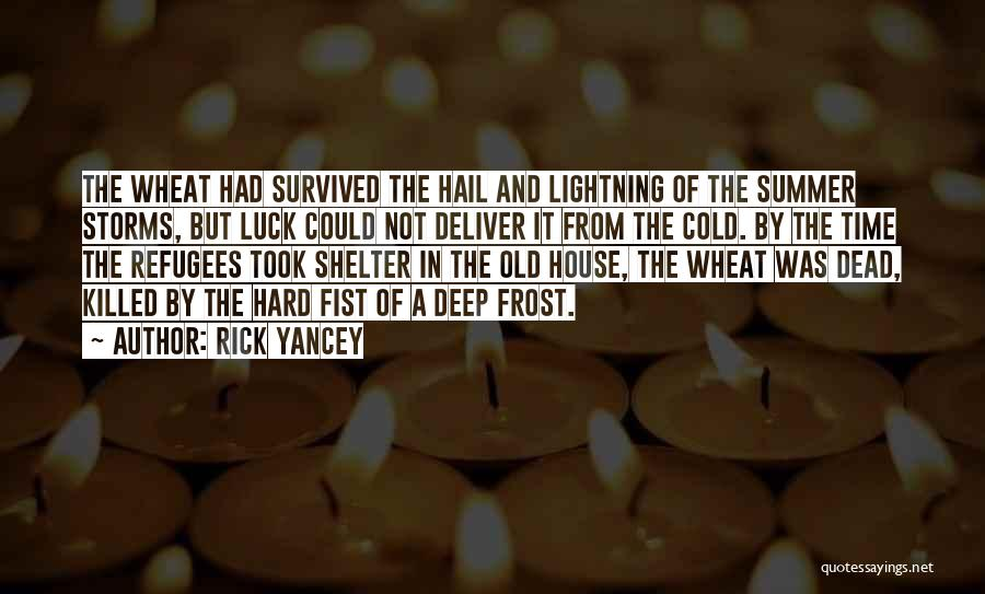 Time By Time Quotes By Rick Yancey