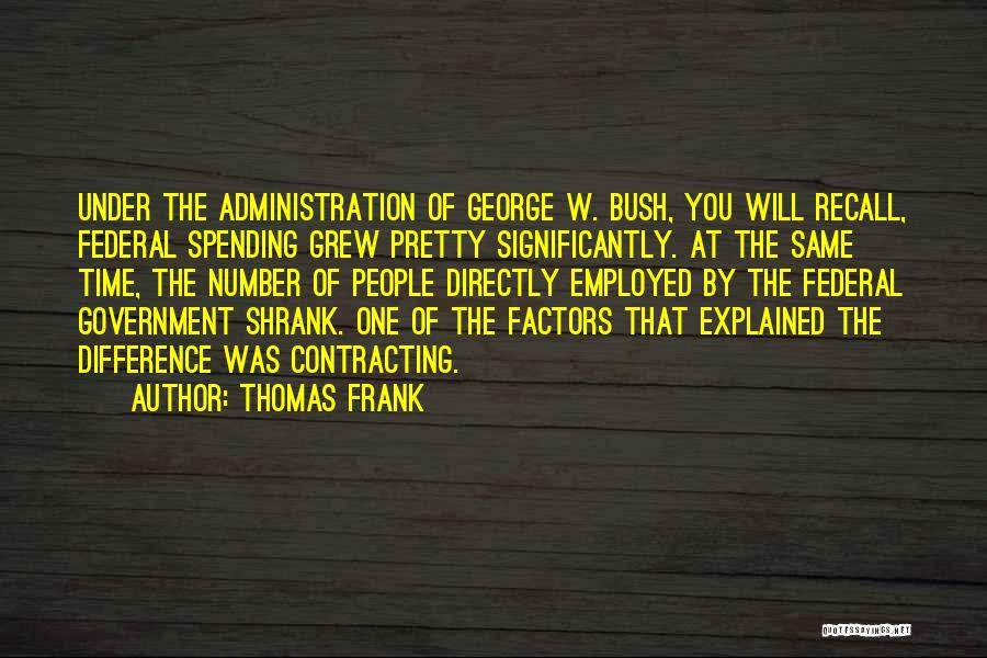 Time By Time Quotes By Thomas Frank