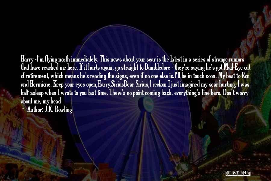 Time Changing Everything Quotes By J.K. Rowling