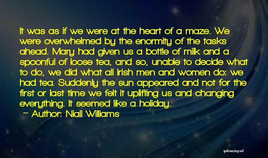 Time Changing Everything Quotes By Niall Williams