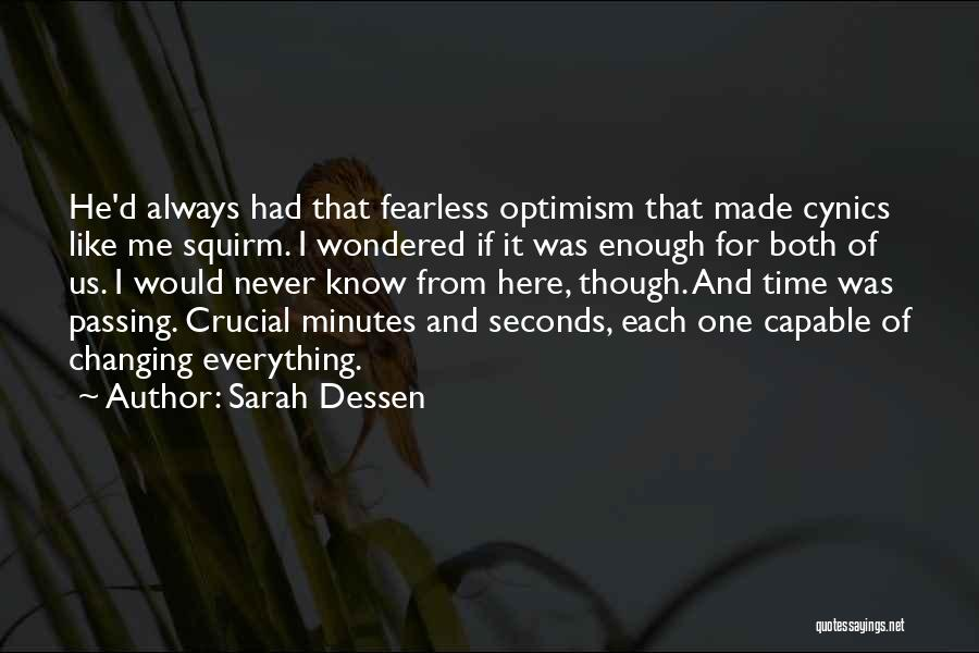 Time Changing Everything Quotes By Sarah Dessen