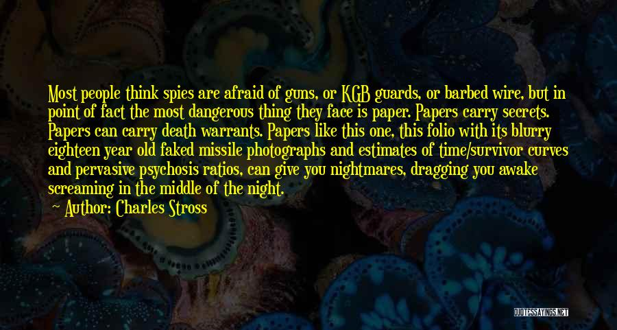 Time Dragging Quotes By Charles Stross