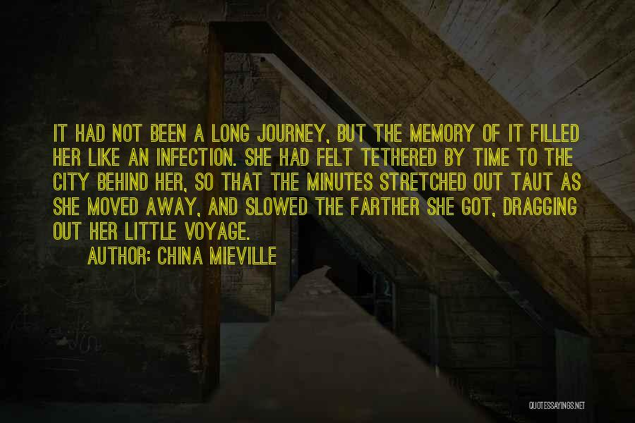 Time Dragging Quotes By China Mieville