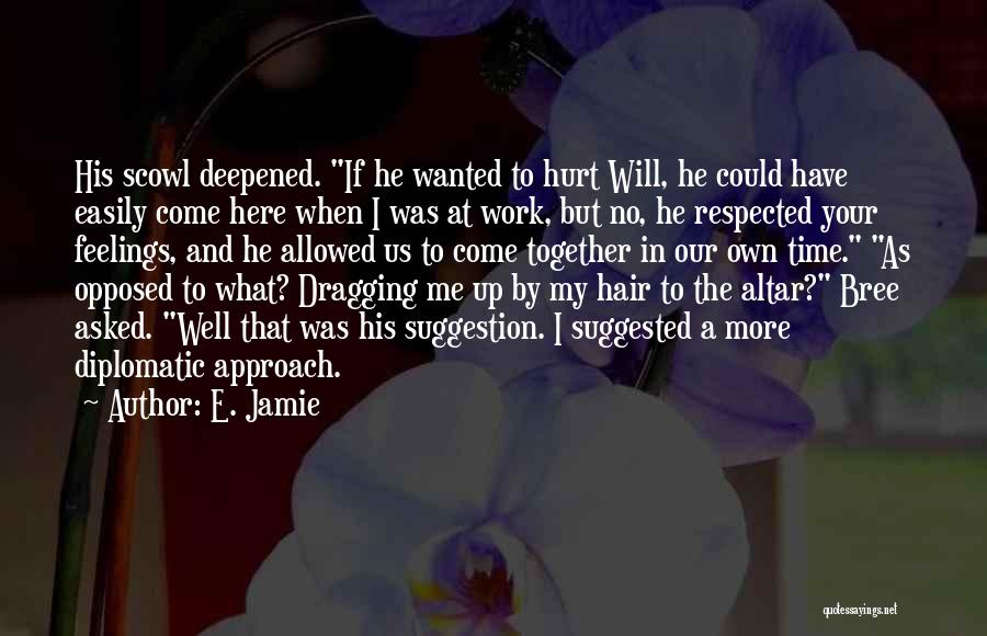 Time Dragging Quotes By E. Jamie