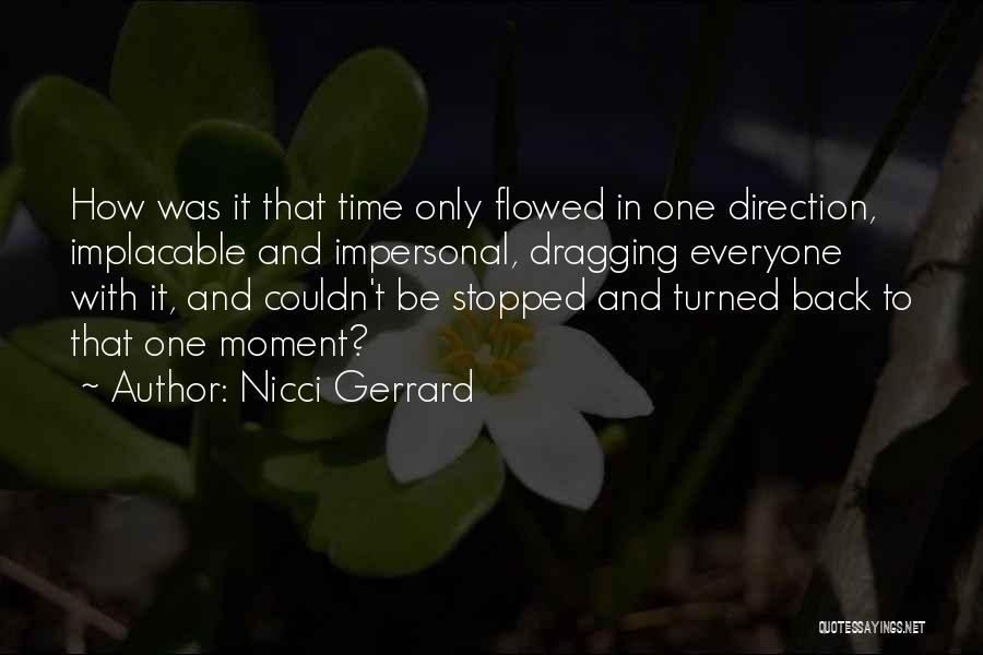 Time Dragging Quotes By Nicci Gerrard
