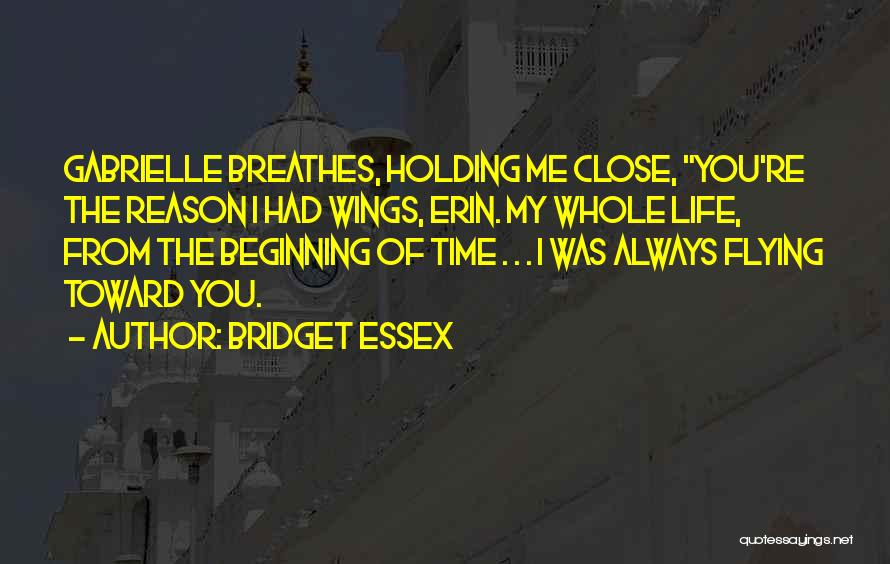 Time Flying And Love Quotes By Bridget Essex