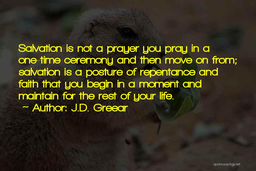 Time For Rest Quotes By J.D. Greear
