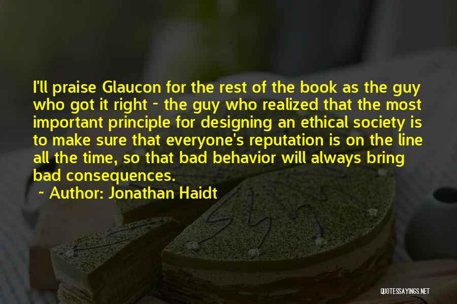 Time For Rest Quotes By Jonathan Haidt