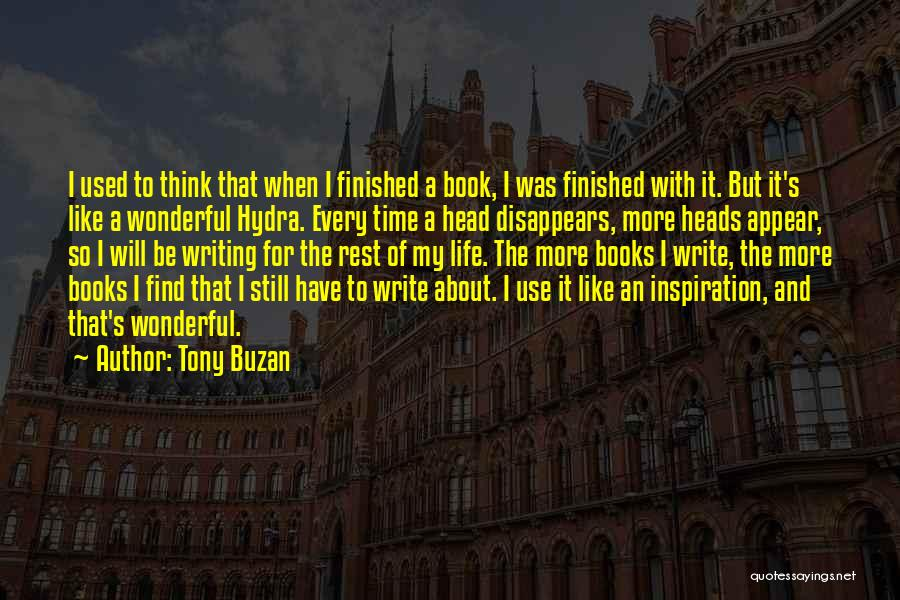 Time For Rest Quotes By Tony Buzan