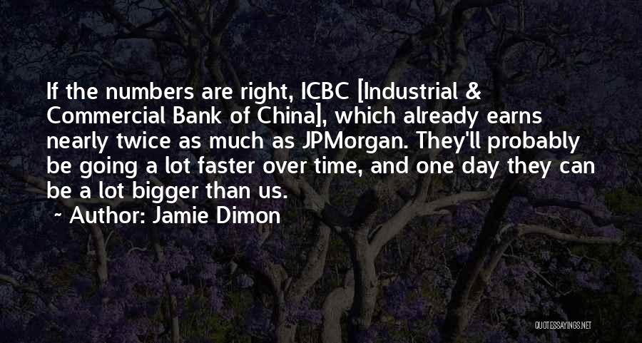 Time Going Faster Quotes By Jamie Dimon
