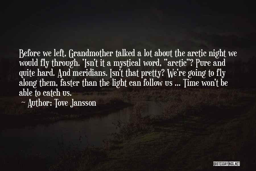 Time Going Faster Quotes By Tove Jansson