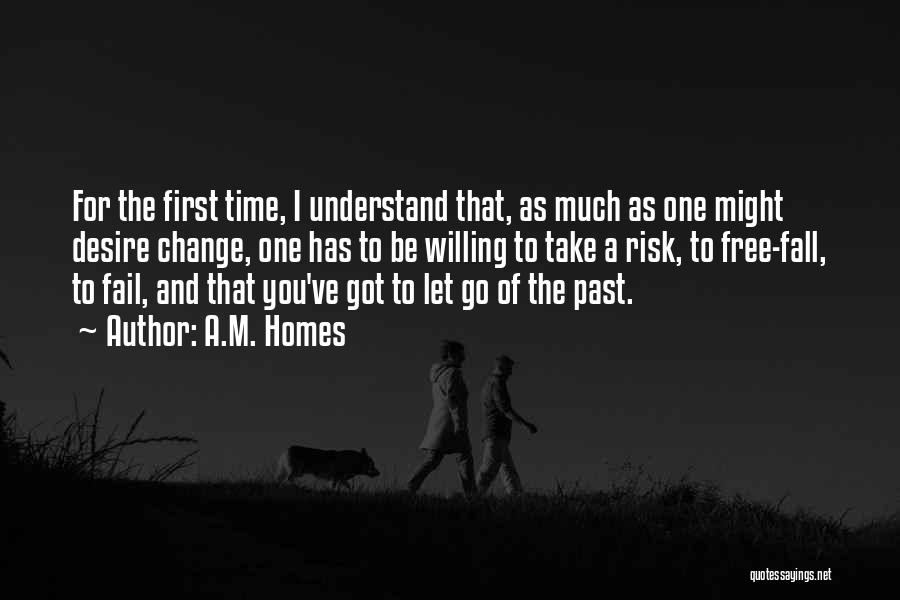 Time Has Past Quotes By A.M. Homes