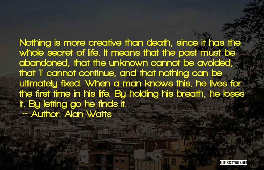 Time Has Past Quotes By Alan Watts
