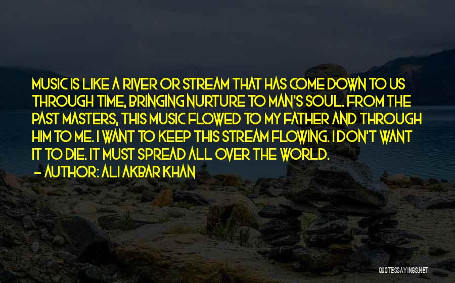 Time Has Past Quotes By Ali Akbar Khan