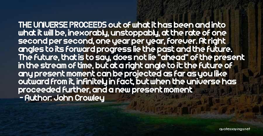 Time Has Past Quotes By John Crowley