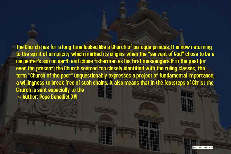 Time Has Past Quotes By Pope Benedict XVI