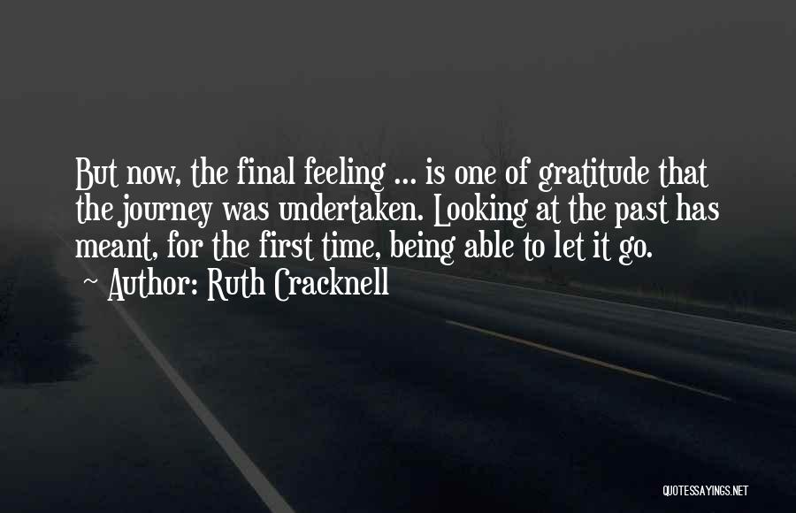 Time Has Past Quotes By Ruth Cracknell