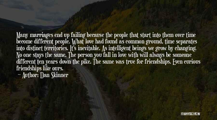 Time In Relationships Quotes By Dan Skinner