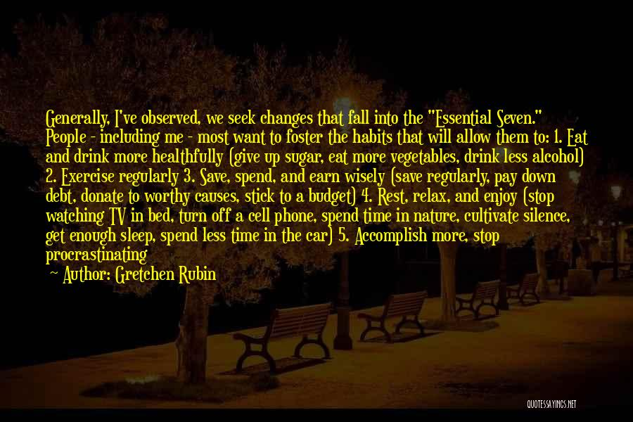 Time In Relationships Quotes By Gretchen Rubin
