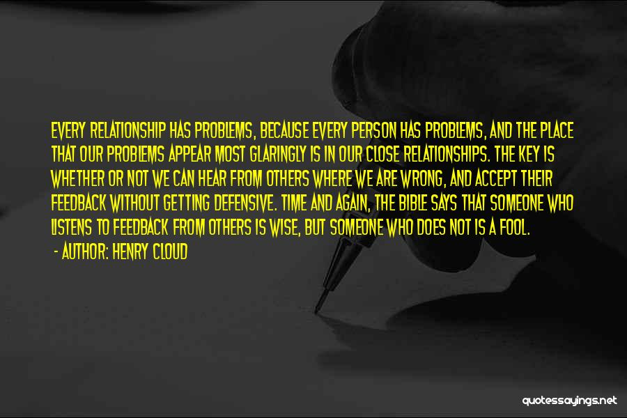 Time In Relationships Quotes By Henry Cloud