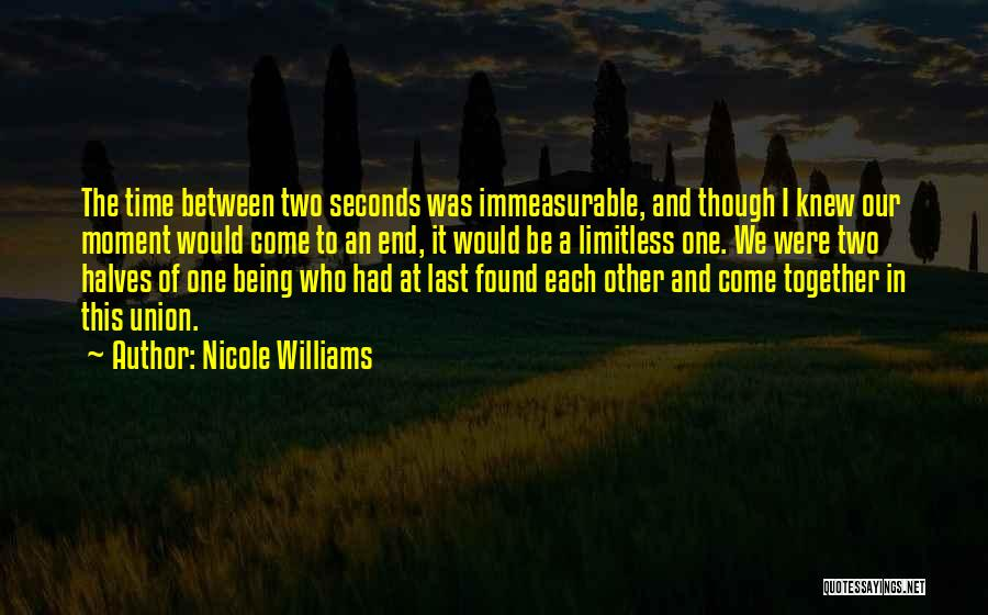 Time In Relationships Quotes By Nicole Williams