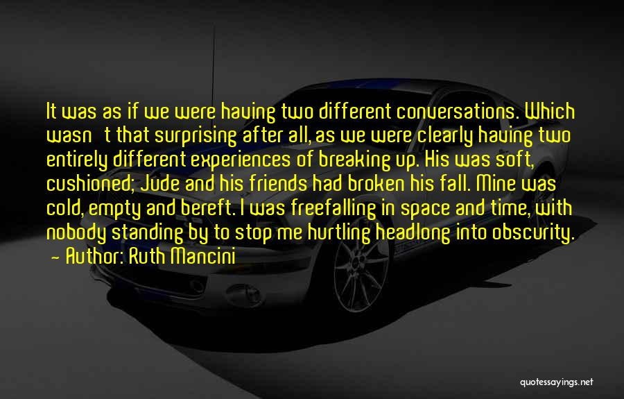 Time In Relationships Quotes By Ruth Mancini