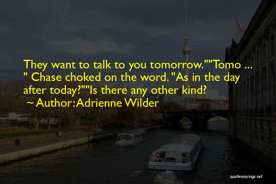 Time Is Funny Quotes By Adrienne Wilder