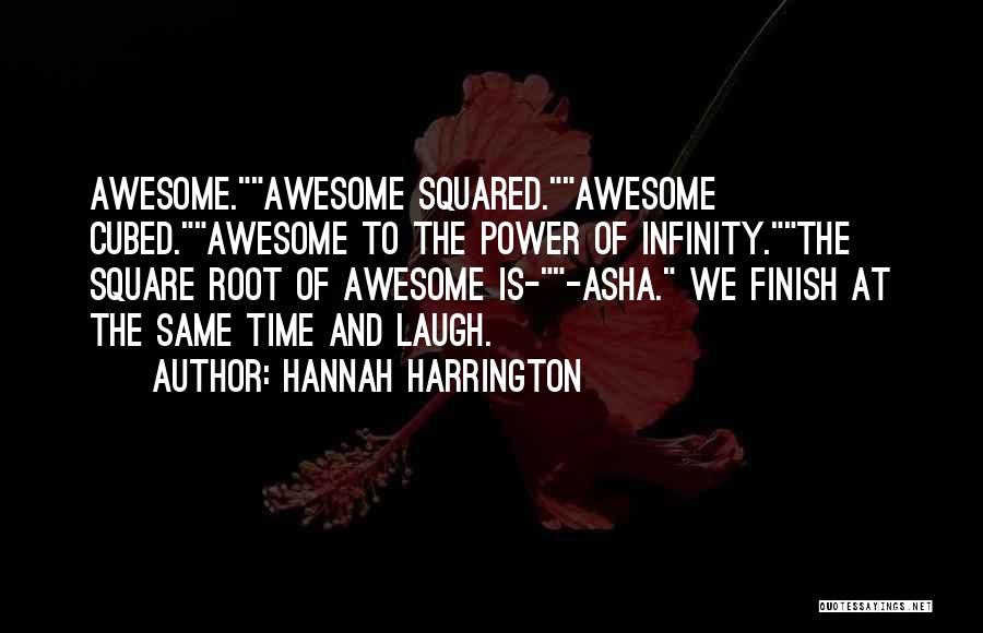 Time Is Funny Quotes By Hannah Harrington