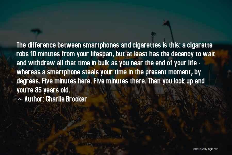 Time Is Near Quotes By Charlie Brooker