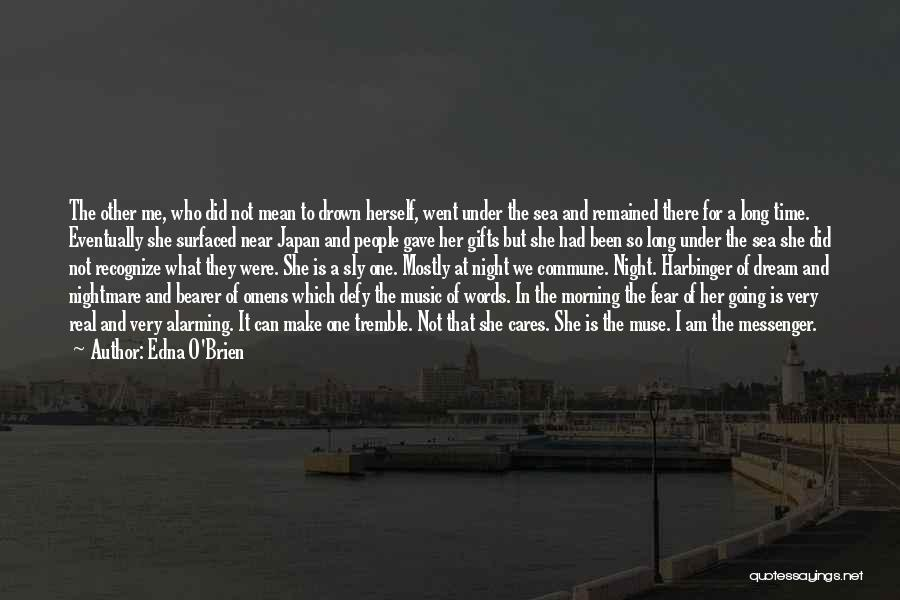 Time Is Near Quotes By Edna O'Brien