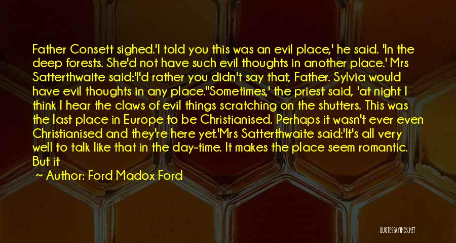 Time Is Near Quotes By Ford Madox Ford