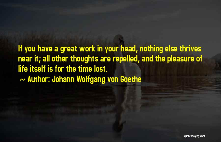 Time Is Near Quotes By Johann Wolfgang Von Goethe