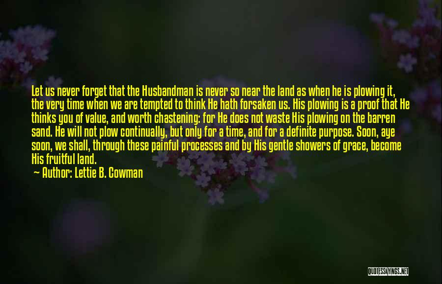 Time Is Near Quotes By Lettie B. Cowman