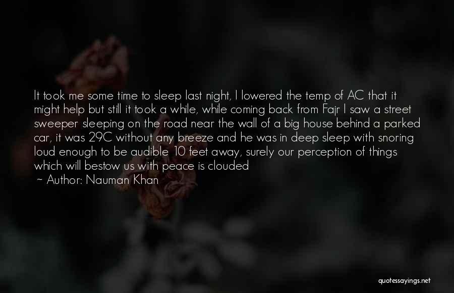 Time Is Near Quotes By Nauman Khan