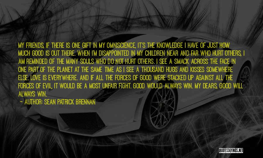 Time Is Near Quotes By Sean Patrick Brennan