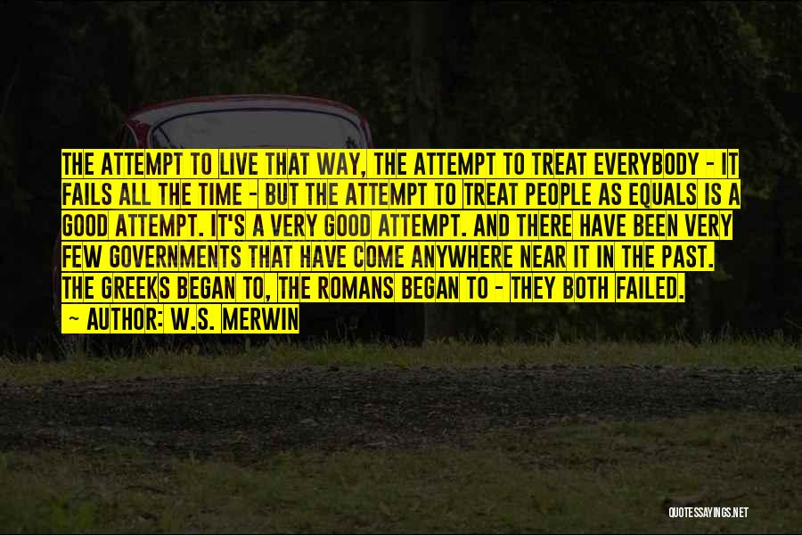 Time Is Near Quotes By W.S. Merwin