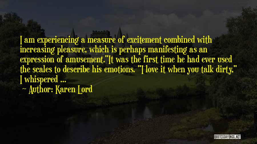 Time Is Not A Measure Of Love Quotes By Karen Lord
