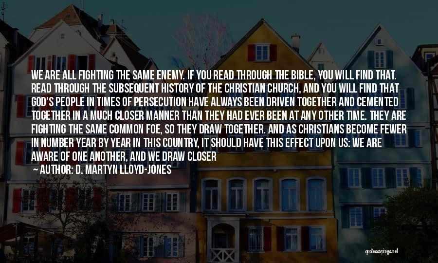 Time Love Bible Quotes By D. Martyn Lloyd-Jones