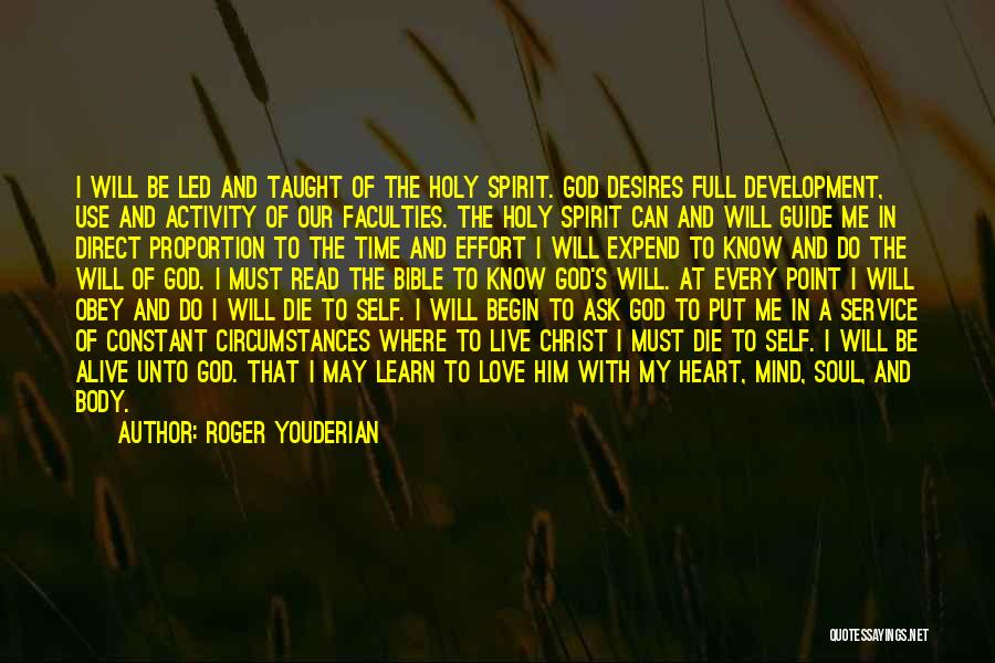 Time Love Bible Quotes By Roger Youderian