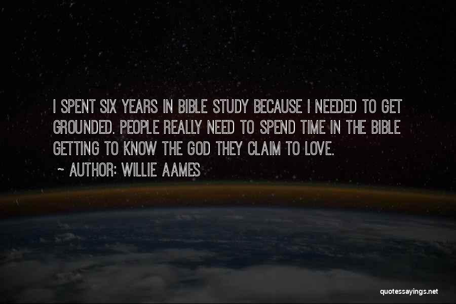 Time Love Bible Quotes By Willie Aames