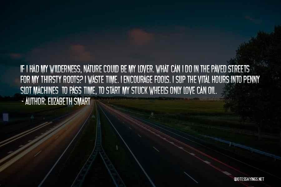 Time Machines Quotes By Elizabeth Smart