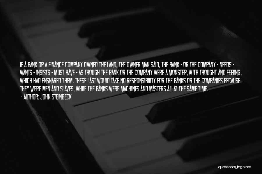 Time Machines Quotes By John Steinbeck