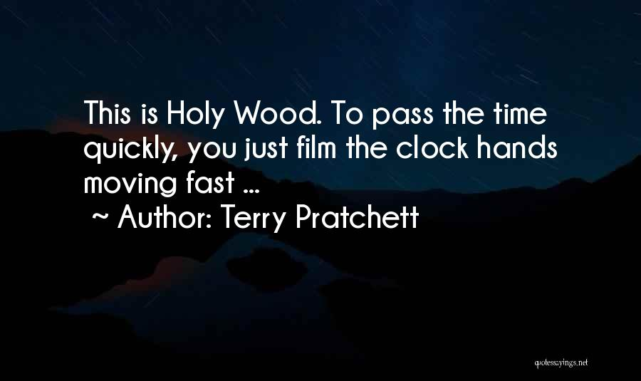 Time Moving Fast Quotes By Terry Pratchett